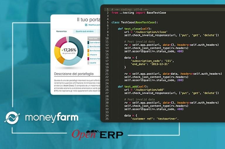 Die Flexibilität von OpernERP (Odoo) am Beispiel der Integration von Informationssystemen bei MoneyFarm