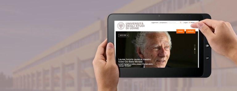 Plone CMS: Das Webportal der Universität Udine
