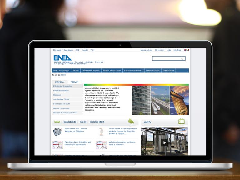 Plone CMS und Webentwicklung für ENEA