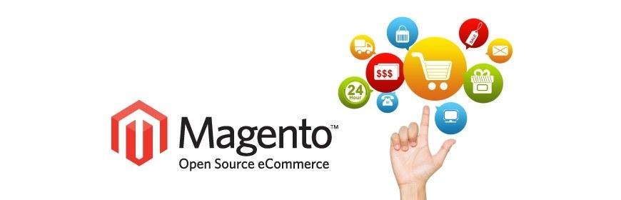Magento ist eine eCommerce-Plattform in PHP und bietet die Möglichkeit, einen Onlineshop zu eröffnen, den Sie bezogen auf Grafik und Funktionen flexibel gestalten können.
