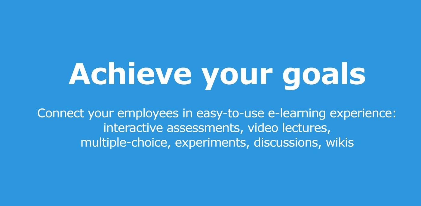 Achieve your goals!
